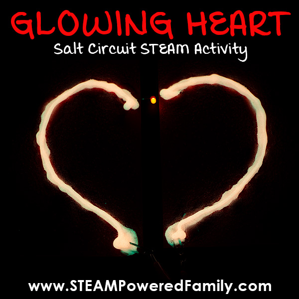 Valentine's Day Circuit STEAM activity