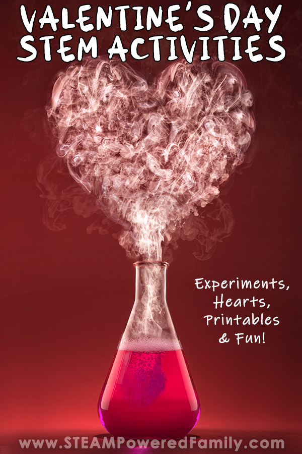 Valentine's Day STEM - Science, Tech, Engineering, Math and even some literacy