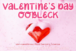 Valentine's Day Oobleck Recipe