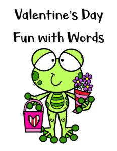 Valentine's Day Literacy Printable