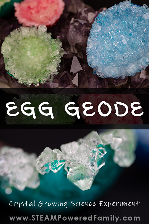 Egg geodes crystal growing science