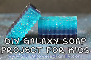 DIY Galaxy Soap Project For Kids