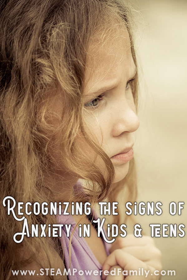 The signs of anxiety in kids and teens
