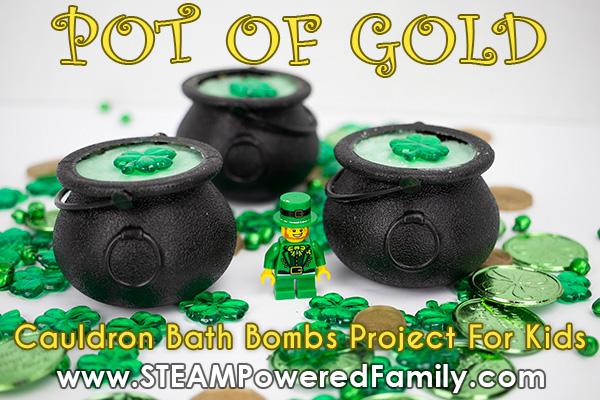 Pot of Gold Bath Bombs