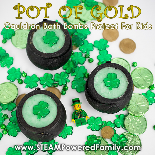 Pot of Gold Cauldron Bath Bombs