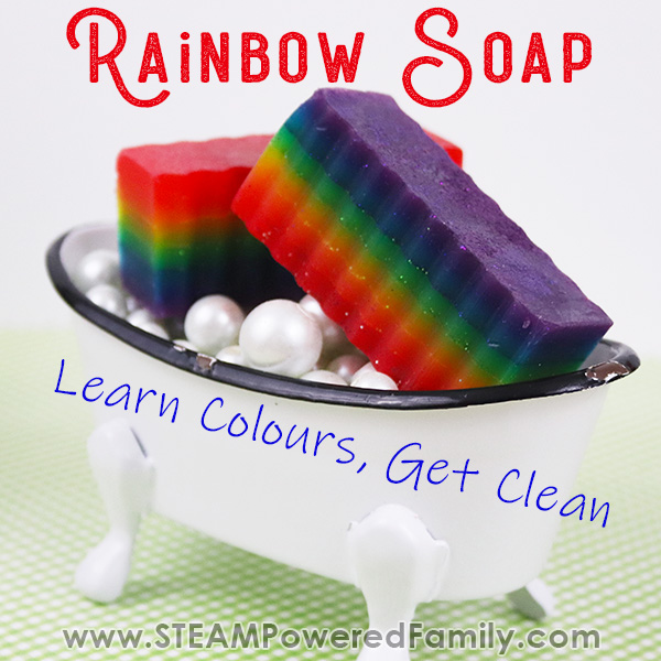 Rainbow Soap For Kids