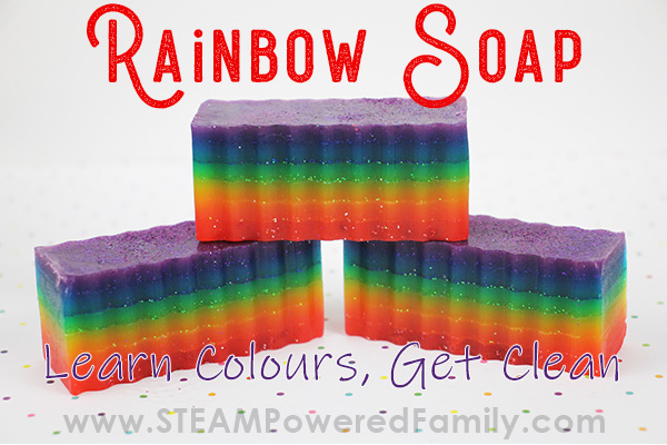Rainbow Soap Recipe