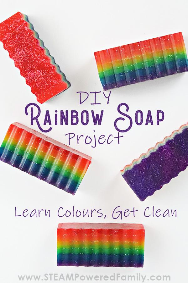 How to make Rainbow Soap