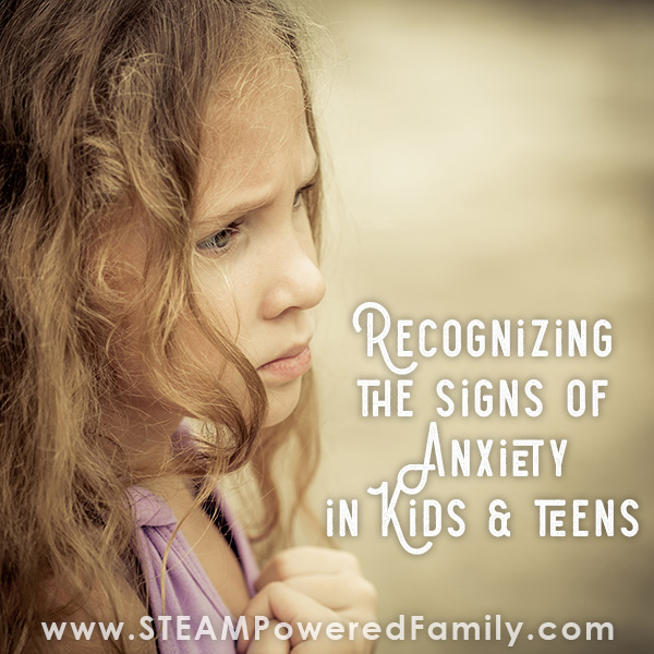Recognizing anxiety signs in kids and teens