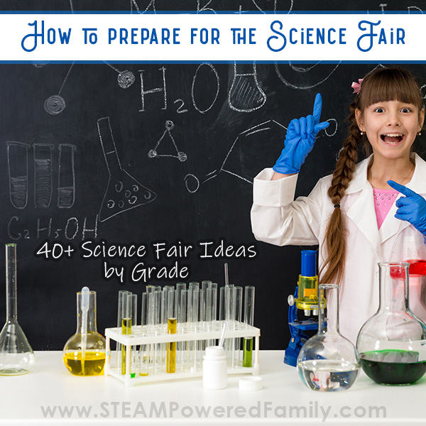 Science fair project ideas and guide