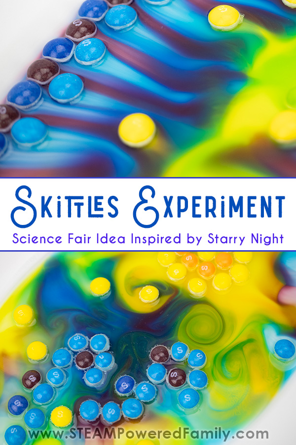 Skittles Experiment creating gorgeous colorful art