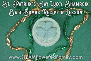 St. Patrick's Day Bath Bomb Recipe