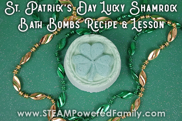 St. Patrick's Day Bath Bomb Recipe