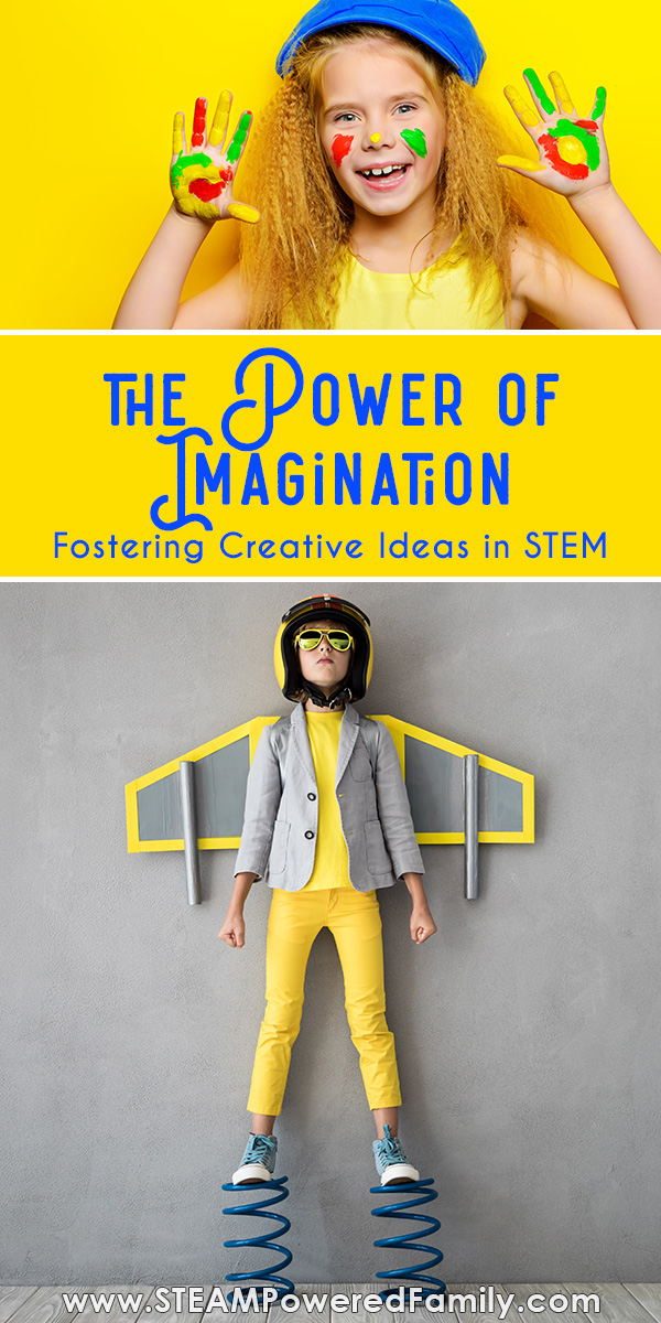 Fostering ideas, creativity, imagination and a love of mistakes in kids