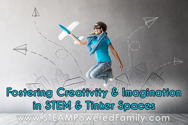 fostering imagination and creativity in kids