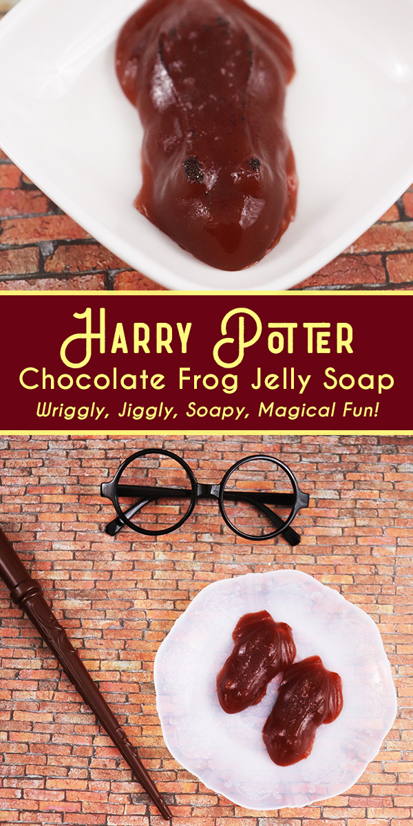 Harry Potter Chocolate Frog Soap Jelly Recipe