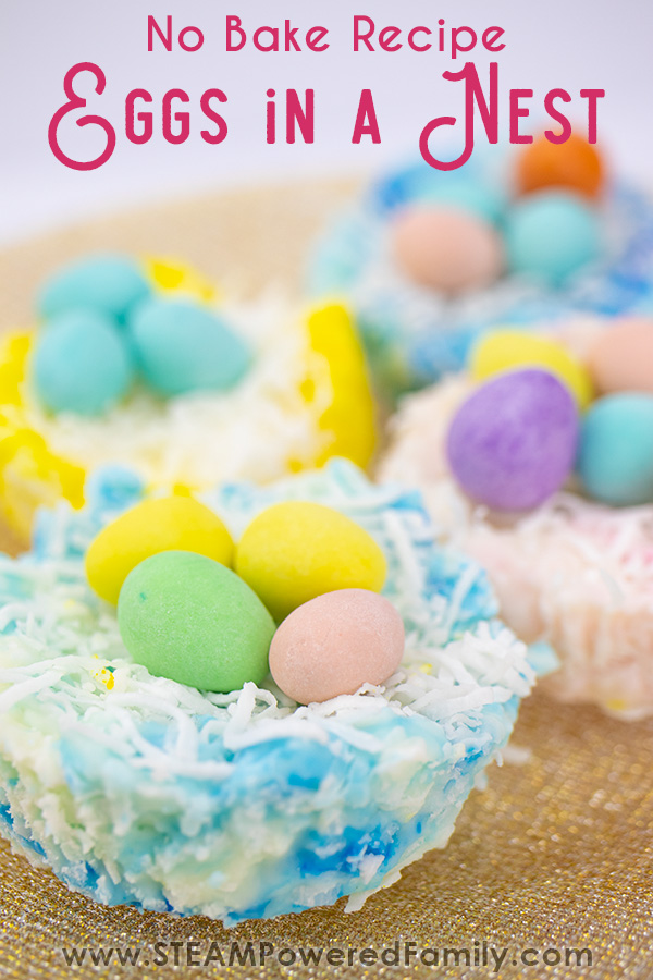 Eggs in a nest no bake recipe