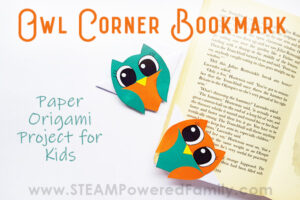 Owl Corner Bookmark