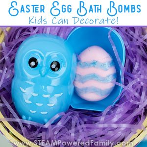 Easter Egg Bath Bombs for Kids to Decorate