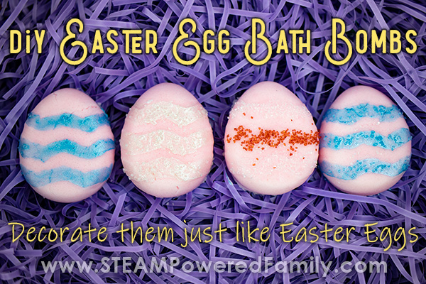 Easter Egg Batjh Bombs to make and decorate