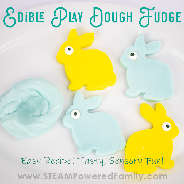 Fudge that is also play dough!