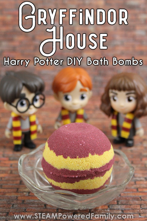 Gryffindor Harry Potter Bath Bombs