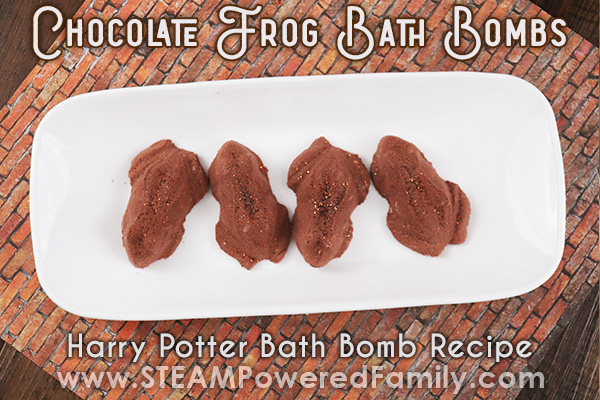 Harry Potter Bath Bombs Inspired By Chocolate Frogs