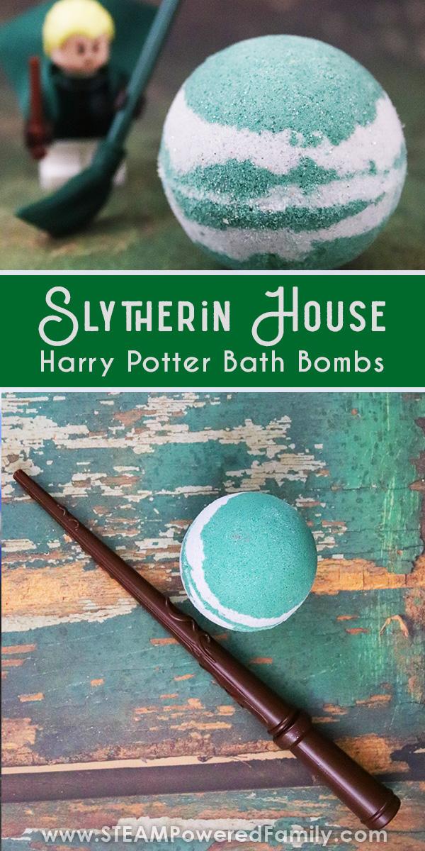 Slytherin Harry Potter Bath Bomb