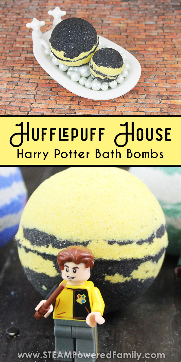 Harry Potter Bath Bomb for Hufflepuff House