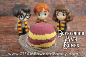 Harry Potter Bath Bomb Recipe