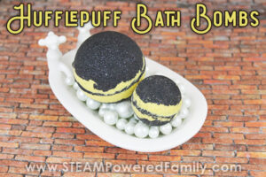 Hufflepuff Harry Potter Bath Bomb