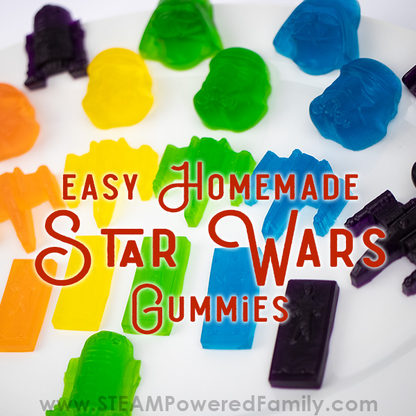 Star Wars Homemade Gummies - May the 4th Be With You
