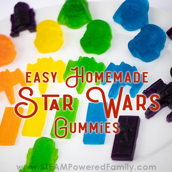 Star Wars Gummy Recipe