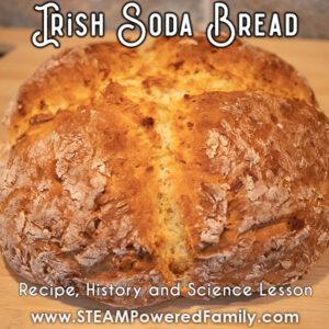 Delicious Irish Soda Bread made with easy recipe