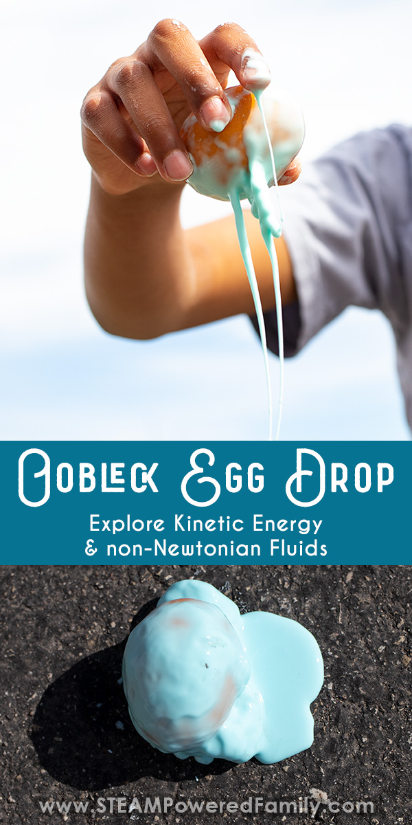 Oobleck Egg Drop