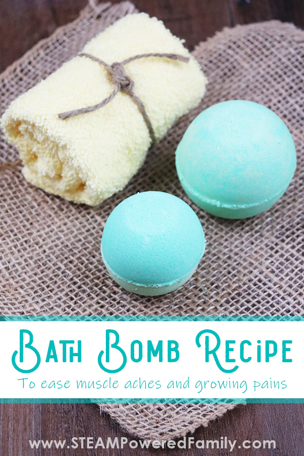 Pain relief bath bomb recipe