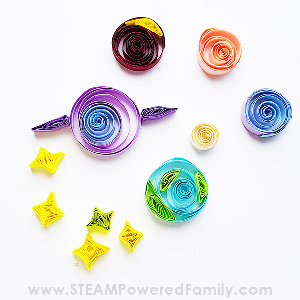 Quilled Planets