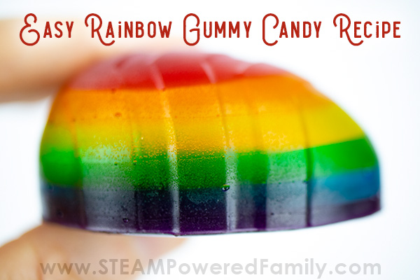 Homemade Gummies Dragon Eggs Rainbow Recipe