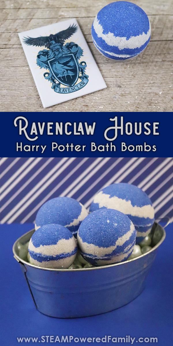 Ravenclaw Harry Potter Bath Bomb Recipe