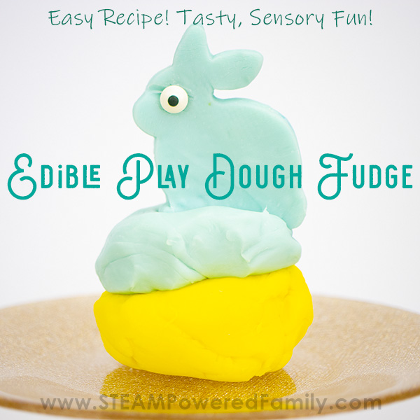 Edible Play Dough Fudge