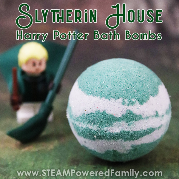 Slytherin House Harry Potter Bath Bomb