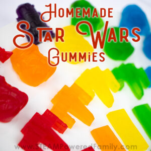 Homemade Star Wars Gummies