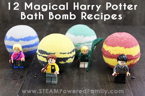 Harry Potter Bath Bomb Recipes