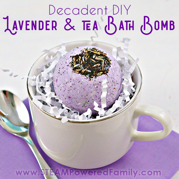 Lavender and Tea Bath Bomb Recipe