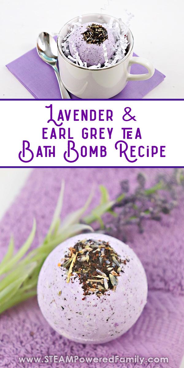 Lavender and Tea English Bath Bomb