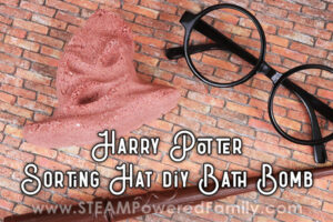 Harry Potter Sorting Hat Bath Bomb