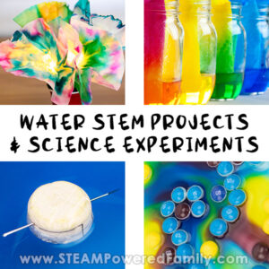 Water projects and Science Experiments