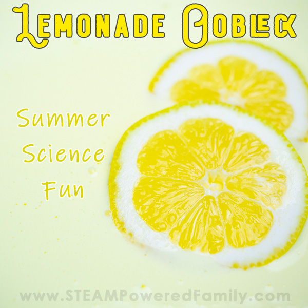 Lemonade Oobleck with Lemons