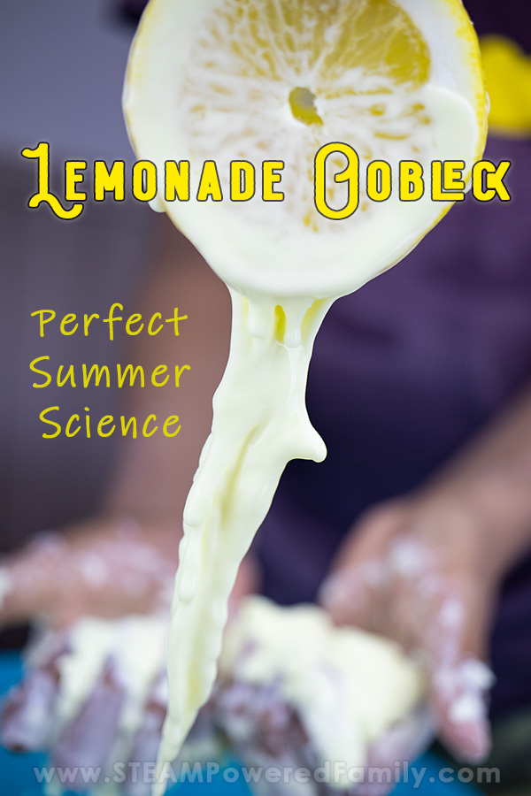 Lemonade Oobleck Play Time