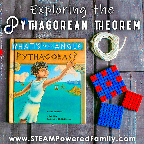 Pythagorean Theorem activities for elementary using Lego and string